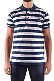 paul and shark polo shirts - PAUL & SHARK Men's Mcbi234095o Blue Cotton Polo Shirt
