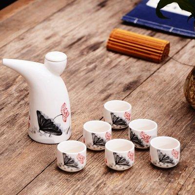 mh-rita-ceramic-wine-set-horn-moutai-wine-liquor-liquor-wine-cup-small-wine-wine-6-cup-g