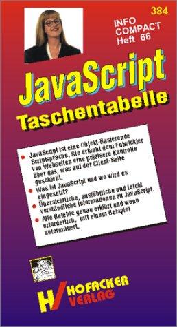 JavaScript Taschentabelle