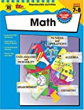 Math, Grades 7-8, Vincent Douglas and School Specialty Publishing Staff, 0742417239
