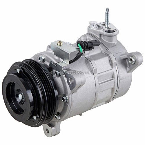 AC Compressor & A/C Clutch For Chevy Silverado GMC Sierra 1500 Pickup 4.3L V6 2014 2015 2016 - BuyAutoParts 60-03828NA New