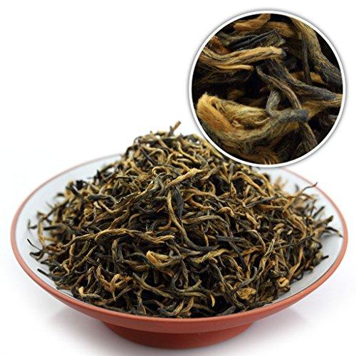(GOARTEA 250g (8.8 Oz) Organic Supreme WuYi Lapsang Souchong Golden buds Zheng Shan Xiao Zhong Loose Black Tea)