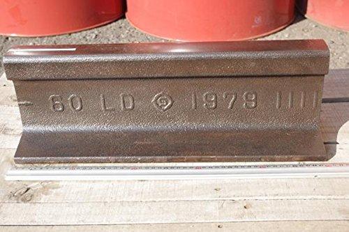 国鉄・JR使用、60kg鉄道レール刻印付 50cm切断