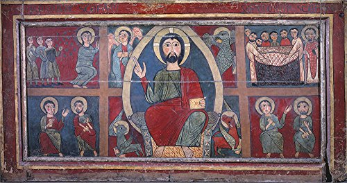 Oil Painting 'Anonymous Frontal De Guils End Of 13 Century ' Printing On Polyster Canvas , 24 X 46 Inch / 61 X 116 Cm ,the Best Hallway Artwork And Home Gallery Art And Gifts Is This Best Price Art Decorative Canvas Prints