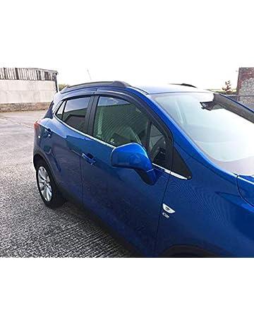 Autoclover Vauxhall Opel Mokka - Juego de deflectores de Viento (4 Piezas)
