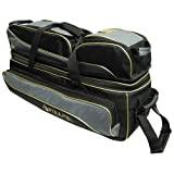 Pyramid 24K Premium Deluxe Triple Tote Roller Plus Bowling Bag