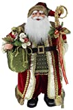 36'' Inch Standing Grand Santa Claus Christmas Figurine Figure Decoration 53603