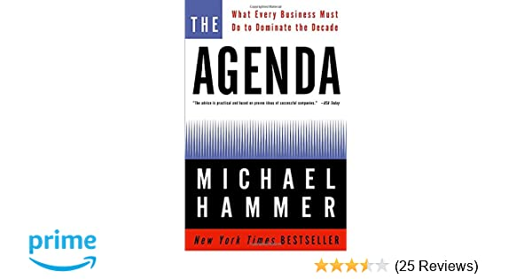 Amazon.com: The Agenda: What Every Business Must Do to ...