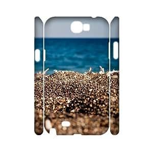 Hotsale Case for Samsung Galaxy Note 2 N7100 3D - The sun on the beach ( WKK-R-512736 )