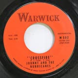 Johnny And The Hurricanes 45 RPM Crossfire / Lazy