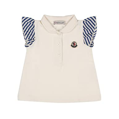 e3a44433d471 Moncler Junior Polo Bambino Baby Girl Mod. 8354905 Beige  Amazon.co.uk   Clothing