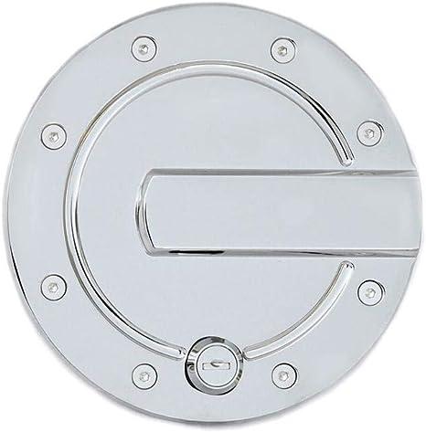 1 Pack AMI 6152CL Race Style Billet Fuel Door 6 3//8 Ring O.D No Door-Chrome Locking