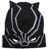 Marvel Flip Down Beanie Hat Cap (Black Panther)