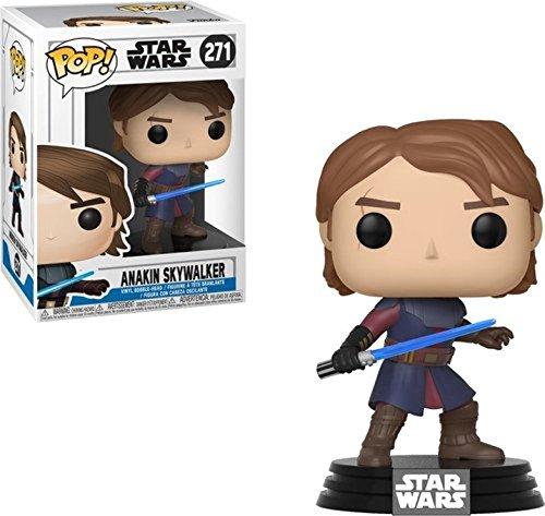 Anakin Skywalker Stand - Funko Pop Star Clone Wars - Anakin Skywalker Collectible Figure, Multicolor
