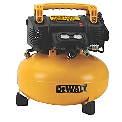 Dewalt DWFP55126 6 Gallon 165 PSI Pancake Compressor - Best in Being Budget-Friendly