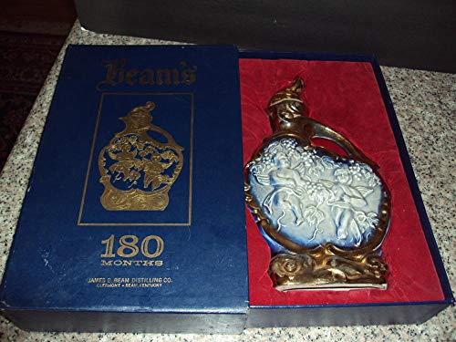 (1974 Beams 180 month Regal China 145 Decanter Box and Decanter)