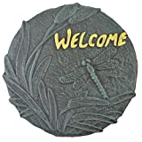 Decorative Cast Iron Yard & Garden Stepping Stone Welcome Dragonfly Review