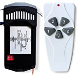 Harbor Breeze 43147 Ceiling Fan & Light Remote Control Kit NEW Universal