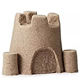 100G Natural Colored Play Sand Can Stack & Build Trim Shape&Sculpt Super Fun