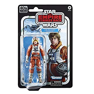 Star Wars The Black Series Luke Skywalker (Snowspeeder) 6-inch Scale The Empire Strikes Back 40TH Anniversary Collectible Figure