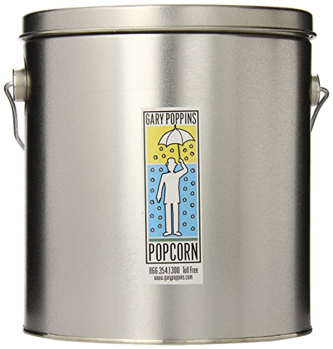 Gary Poppins Popcorn - Gourmet Handcrafted Flavored Popcorn, Classic Cheddar, 1 Gallon Tin