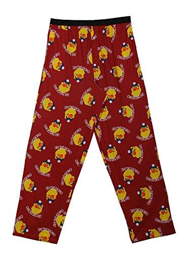 Godsen Men's Cotton Lounge Pants Sleep Pajama Bottoms (S, Chick )