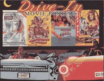 Amazon.com: Drive-In Movie Posters Illustrated Historia de ...