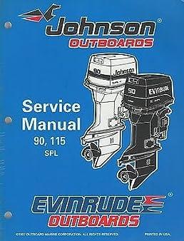 1998 evinrude johnson outboard ec 90 115 spl service manual p n rh amazon com johnson evinrude outboard service manual 1.5-35hp johnson evinrude outboard repair manual.pdf