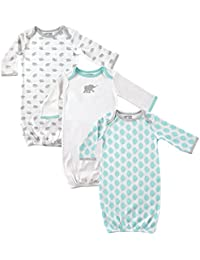 Baby Cotton Gown, 3 Pack