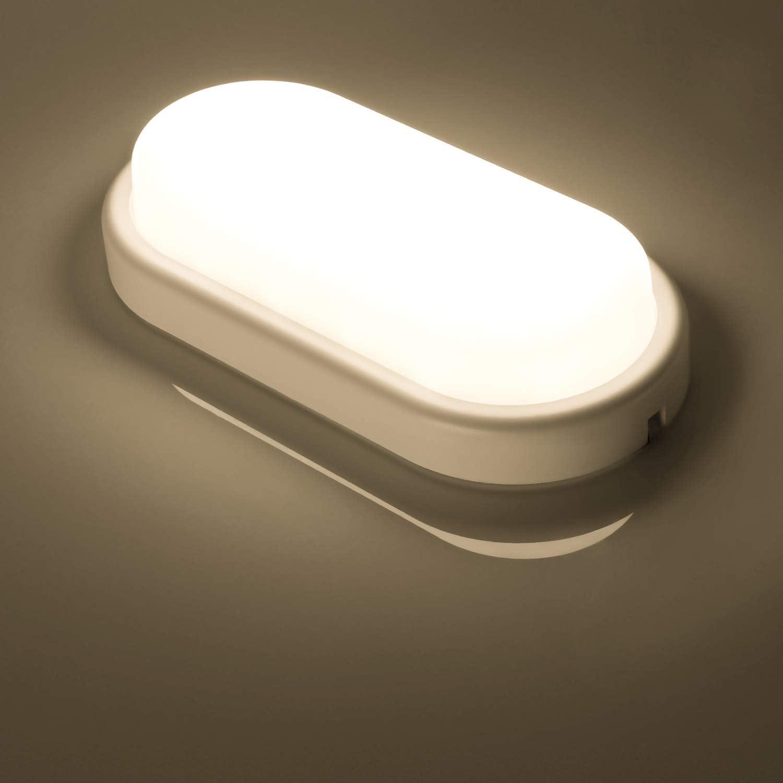 Oeegoo 20W 2000LM Flimmerfreie Deckenlampe LED Wannenleuchte LED Feuchtraumleuchte 60CM IP66 Wasserfest R/öhre f/ür Feuchtraum Garage Lager Werkstatt Garten 4000K 100LM//W