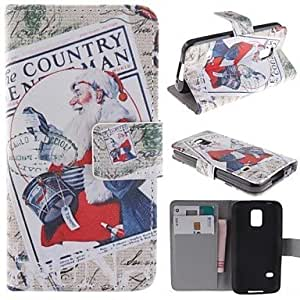 QHY Samsung Galaxy S5 Mini compatible Graphic PU Leather Full Body Cases