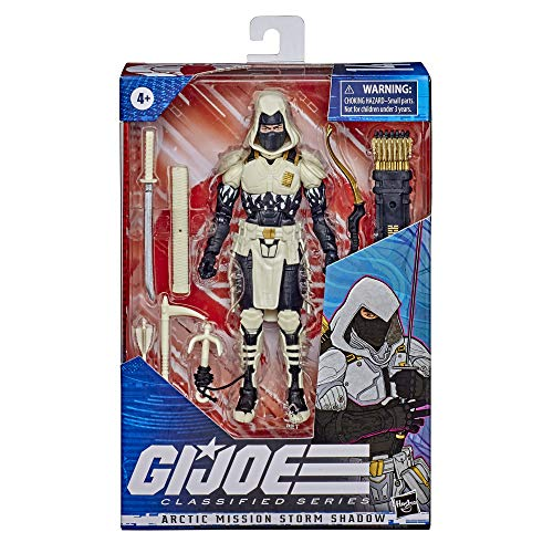 🥇 Hasbro G.I. Joe Classified Series Arctic Mission Storm Shadow Action Figure 14 Premium Toy with Accessories 6-Inch-Scale