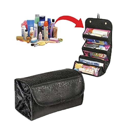 Hanging Roll Up Cosmetic Bags - 4