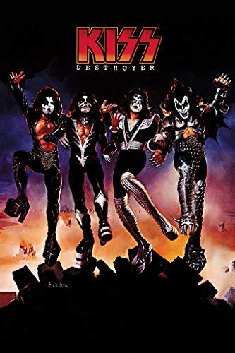 Kiss Destroyer Poster (24x36) PSA009376