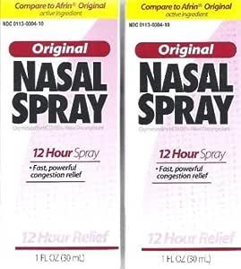 Amazon Com Perrigo 12 Hour Original Nasal Spray 1 Fl Oz