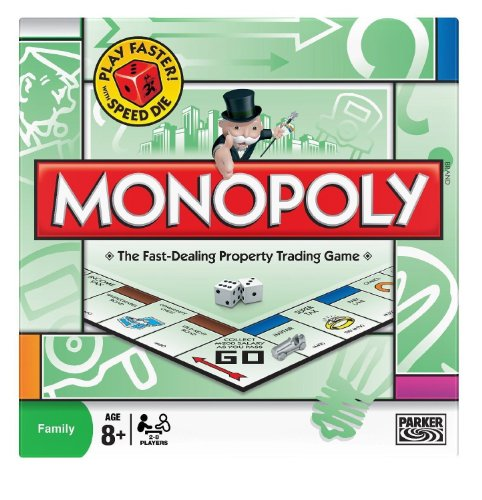 Monopoly Classic World Famous Property Trading Board Game [Brand New & Sealed] Good Quality Fast Shipping Ship Worldwide From Hengheng Shop ()