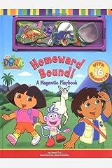 Homeward Bound!: A Magnetic Playbook (Dora the Explorer) Hardcover