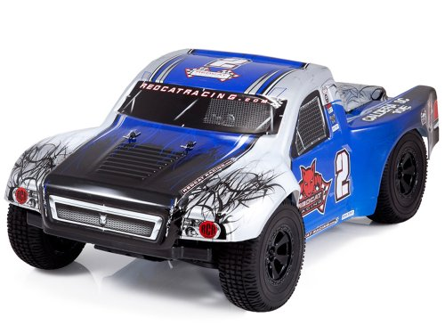 Redcat Racing Caldera SC 10E Brushless Electric Short Course Truck, Blue, 1/10 Scale