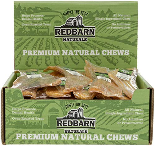 REDBARN Beef Strap Dog Chew, Large, Naturals, 10 Inch, Naturals, 25 Count