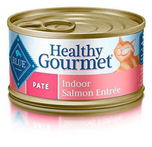 Blue Healthy Gourmet Adult Pate Indoor Salmon Wet Cat Food 3-oz (Pack of 24)