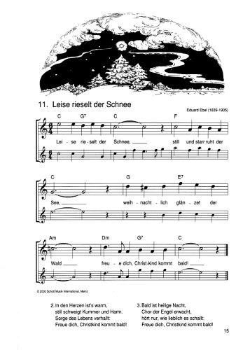 Flöten Noten Weihnachtslieder.Die Schönsten Weihnachtslieder Notenausg M Audio Cds Für