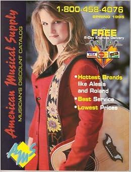 American Musical Supply Catalog (Spring, 1995) Trisha Yearwood: AMS