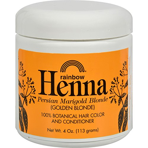- Rainbow Research Henna Hair Color and Conditioner Persian Marigold Blonde Golden Blonde - 4 oz