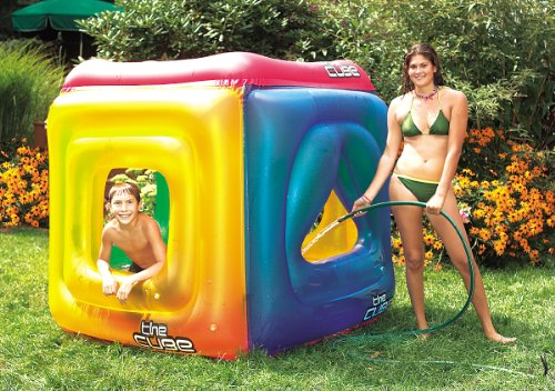 Swimline The Cube Inflatable Pool Float - http://coolthings.us