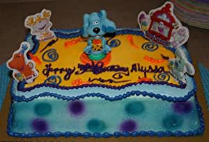 Amazon.com: Classic Blues Clues Cake Decorating Topper Kit