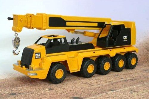 (Toy State CAT Massive Machine Remote 10-Wheel Crane - 23 by)