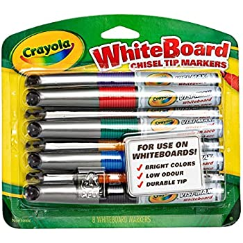 Amazon.com: Crayola 12 Ct Washable Dry Erase Markers