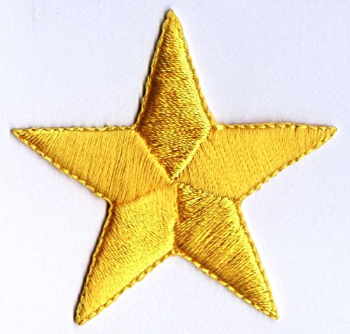 Yellow PIECES Embroidered Applique Patch product image