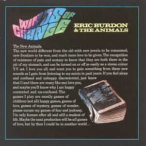 Winds of Change by Eric Burdon & The Animals (Eric Burdon & The Animals Winds Of Change)