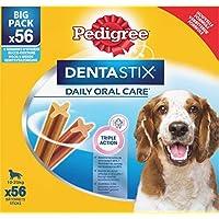 Pedigree Dentastix - Friandises pour Moyen Chien - 56 Sticks Hygiène Bucco -Dentaire